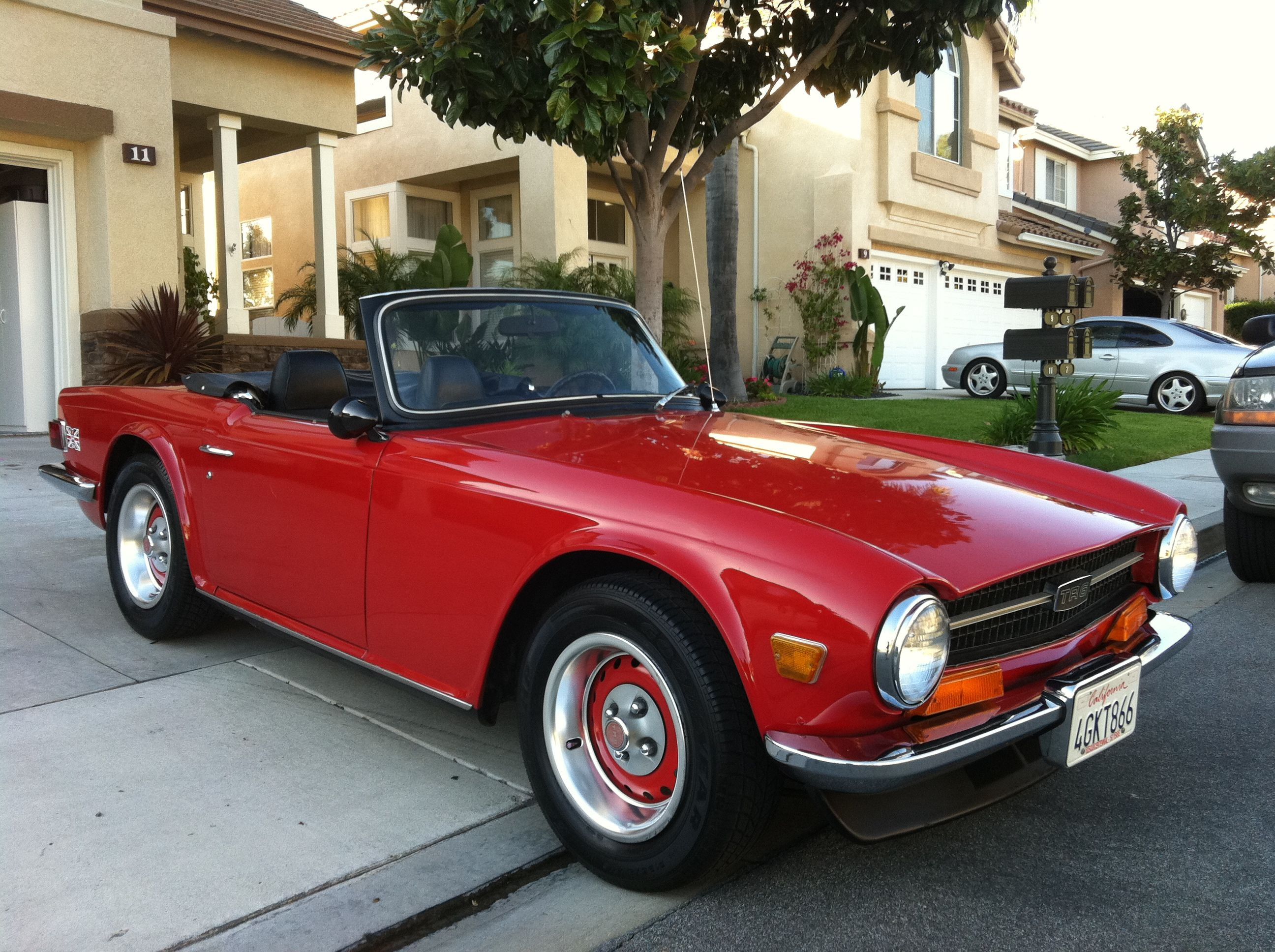 Image result for customized triumph tr6 triumph tr6 mods ads pinterest british car engine and ford