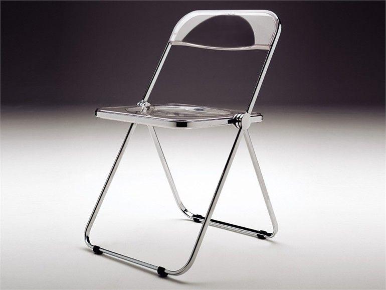 Sedie Di Plastica Pieghevoli.Seggiola Plia Castelli Imitatissima Dal 1969 Sedie Di Plastica