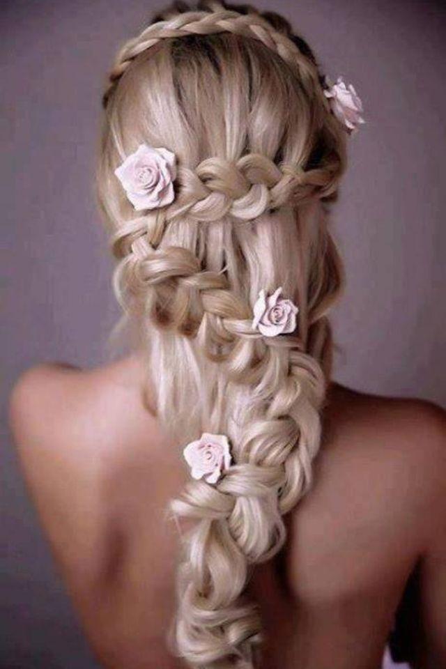 Zig zag waterfall braid hairstyles pinterest hair style zig zag waterfall braid ccuart Images