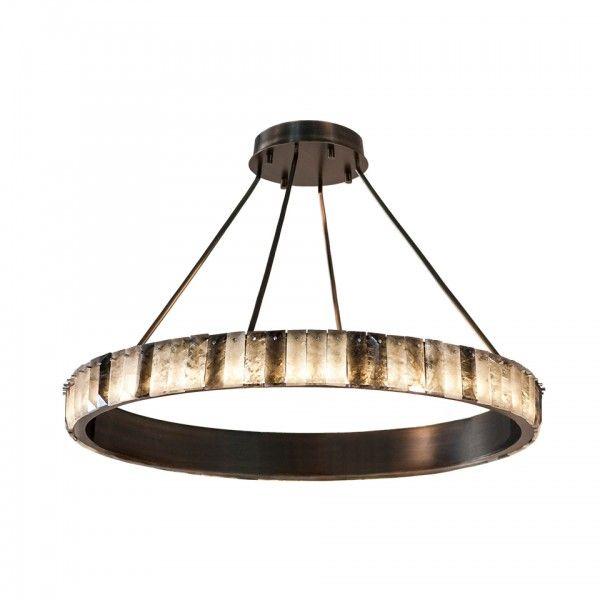 Petra powell single tier wired custom lighting