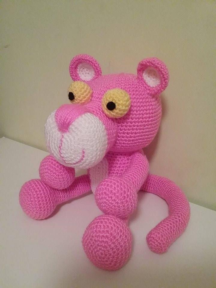 Lidia y su Pantera ♥ Todos son trabajos de amigas tejedoras de ...