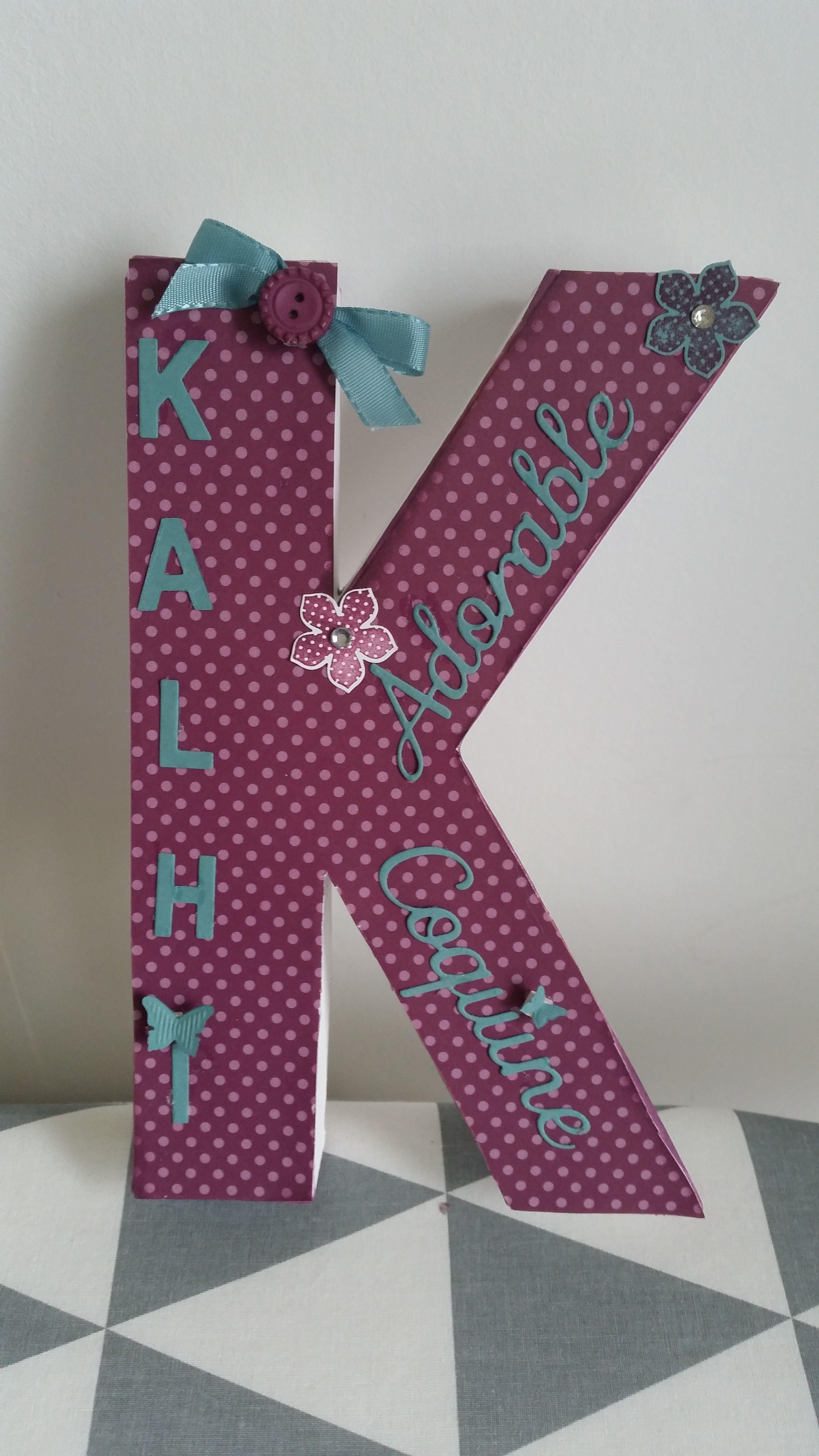 monogramme initiales prenoms scrap crafts letters symbols