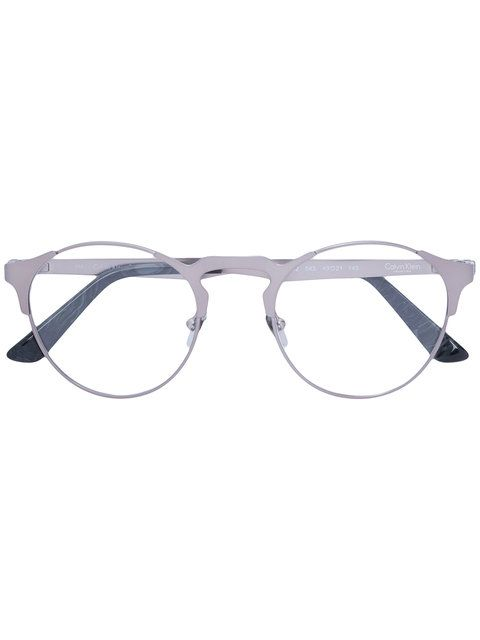 Round Frame Glasses With Images Round Glasses Frames Glasses Calvin Klein Men