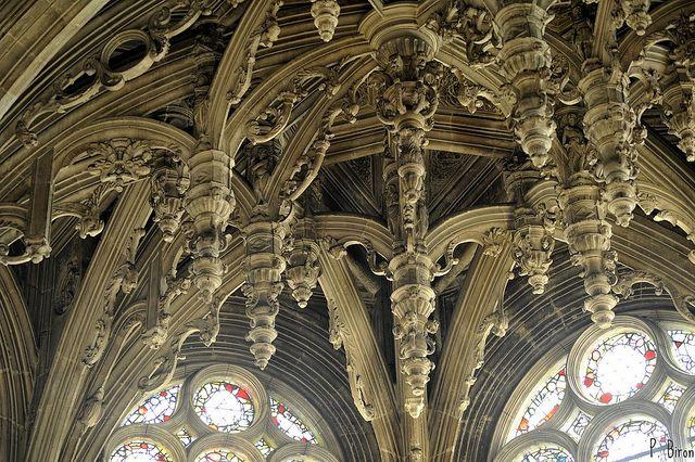 Eglise Saint Pierre De Caen Calvados Basse Normandie Caen Barcelona Cathedral Cathedral