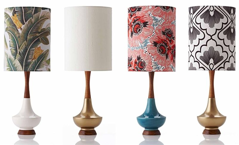 Explore retro print lampshades and more retro print revival · retro print lampshadestable lampsinterior