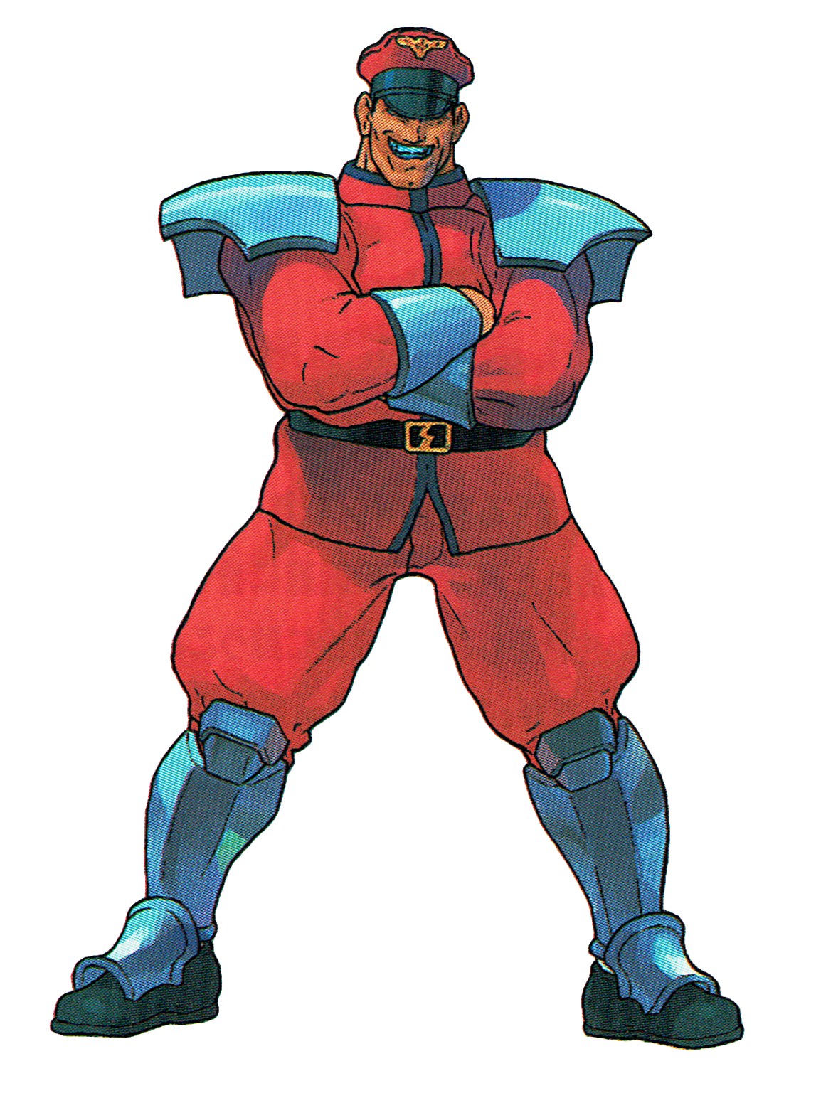 The Video Game Art Archive M Bison From Street Fighter Ex