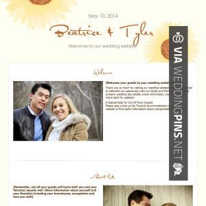 Sample Wedding Website Welcome Message Check Out More Great Pics