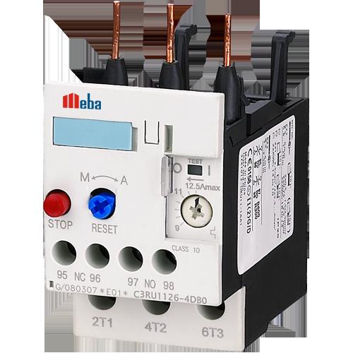Meba thermal overload relay contactor C3RU1126 Relay
