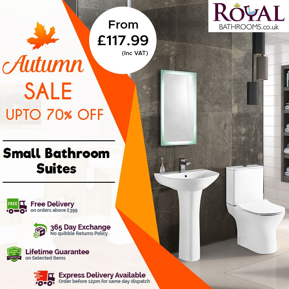 Get 70 Off On Small Bathrooms Huge Offer On This Autumn Season Get Up To 70 Off On All Small Bathrooms Bathroom Suites Small Bathroom