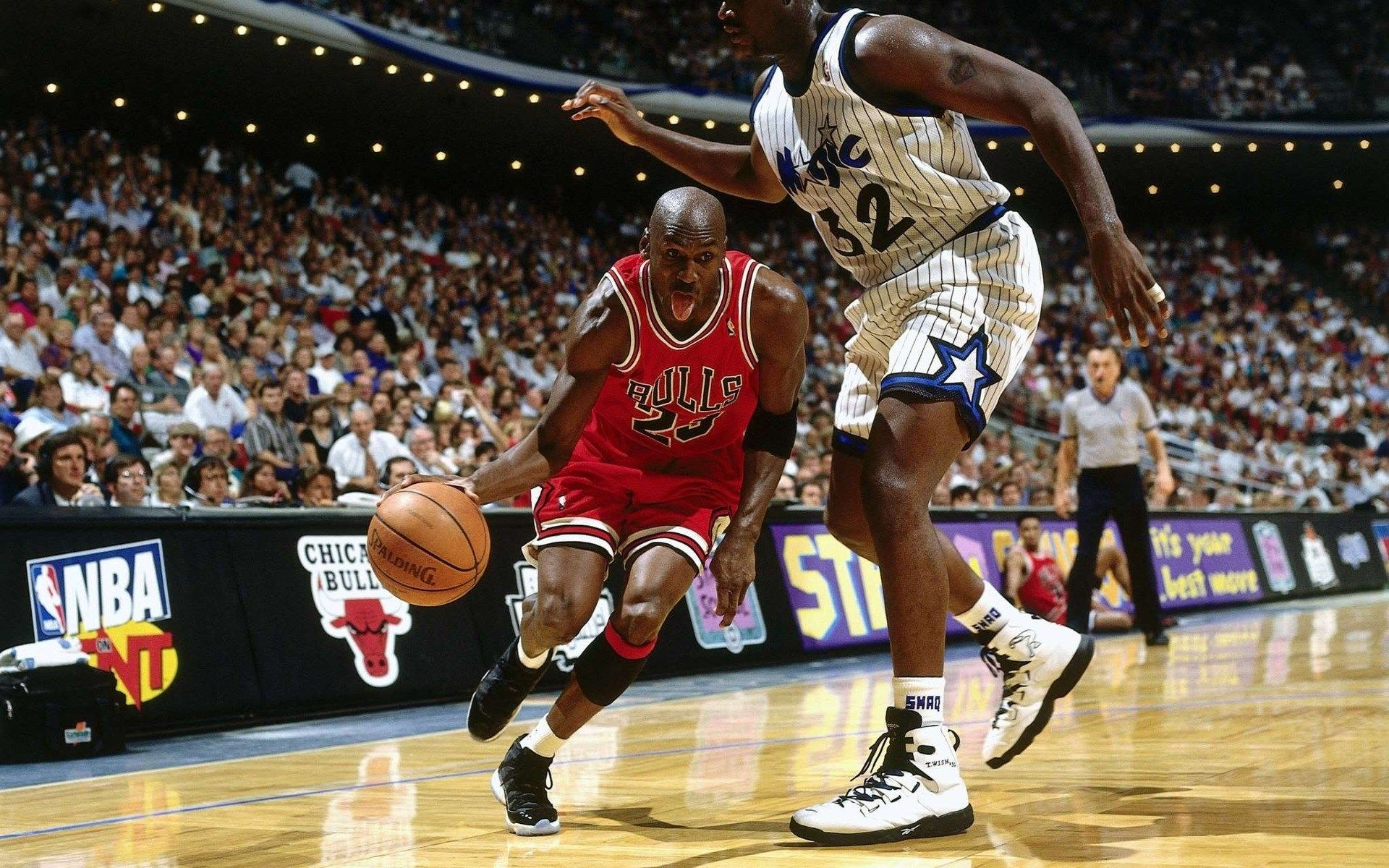 1920x1200 Beautiful Pictures Of Chicago Bulls Michael Jordan Shaquille O Neal Basketball Players