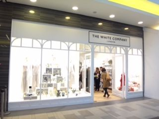 The White Company Shop Front In Aberdeen