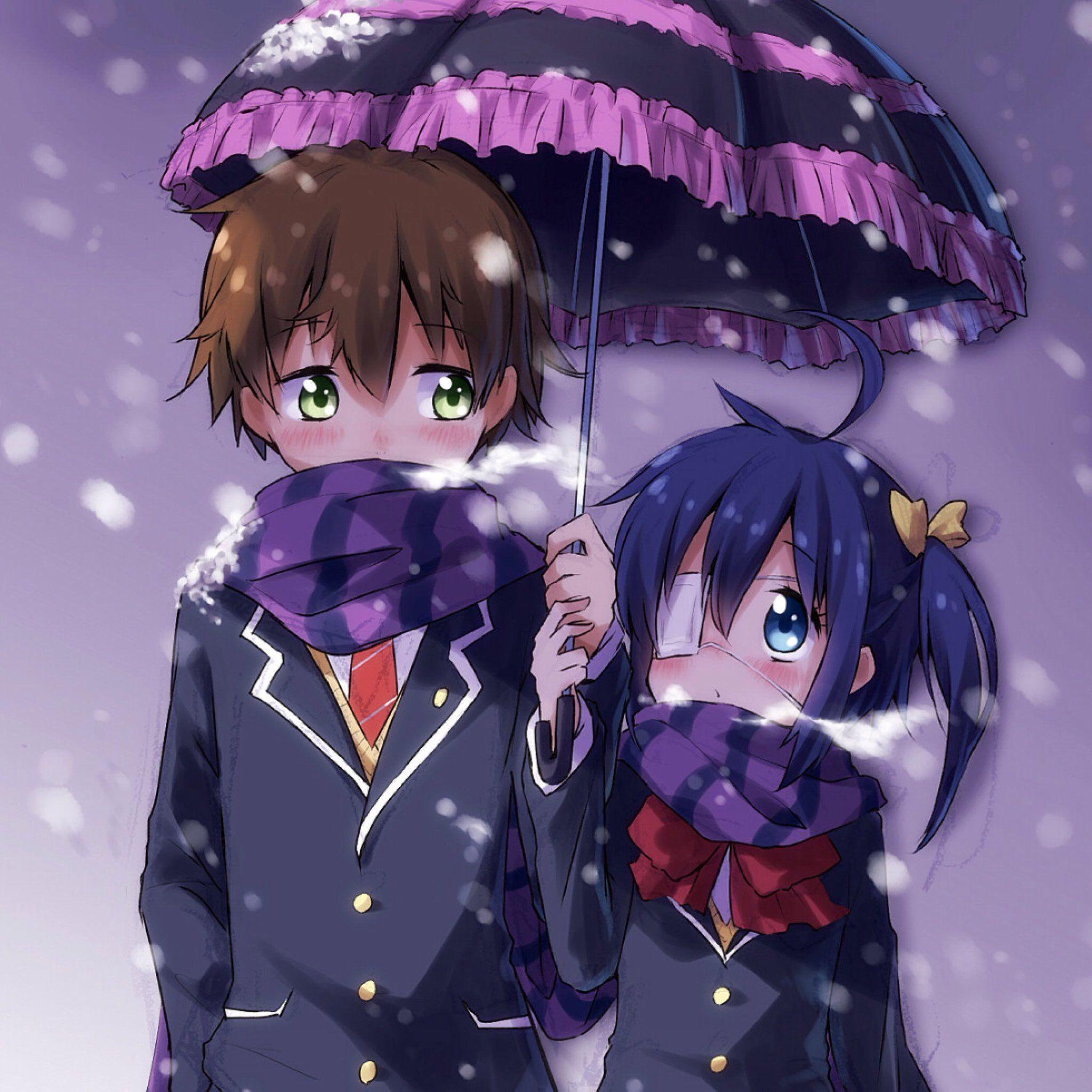 chuunibyoudemokoigashitai imagens) Rikka and yuuta