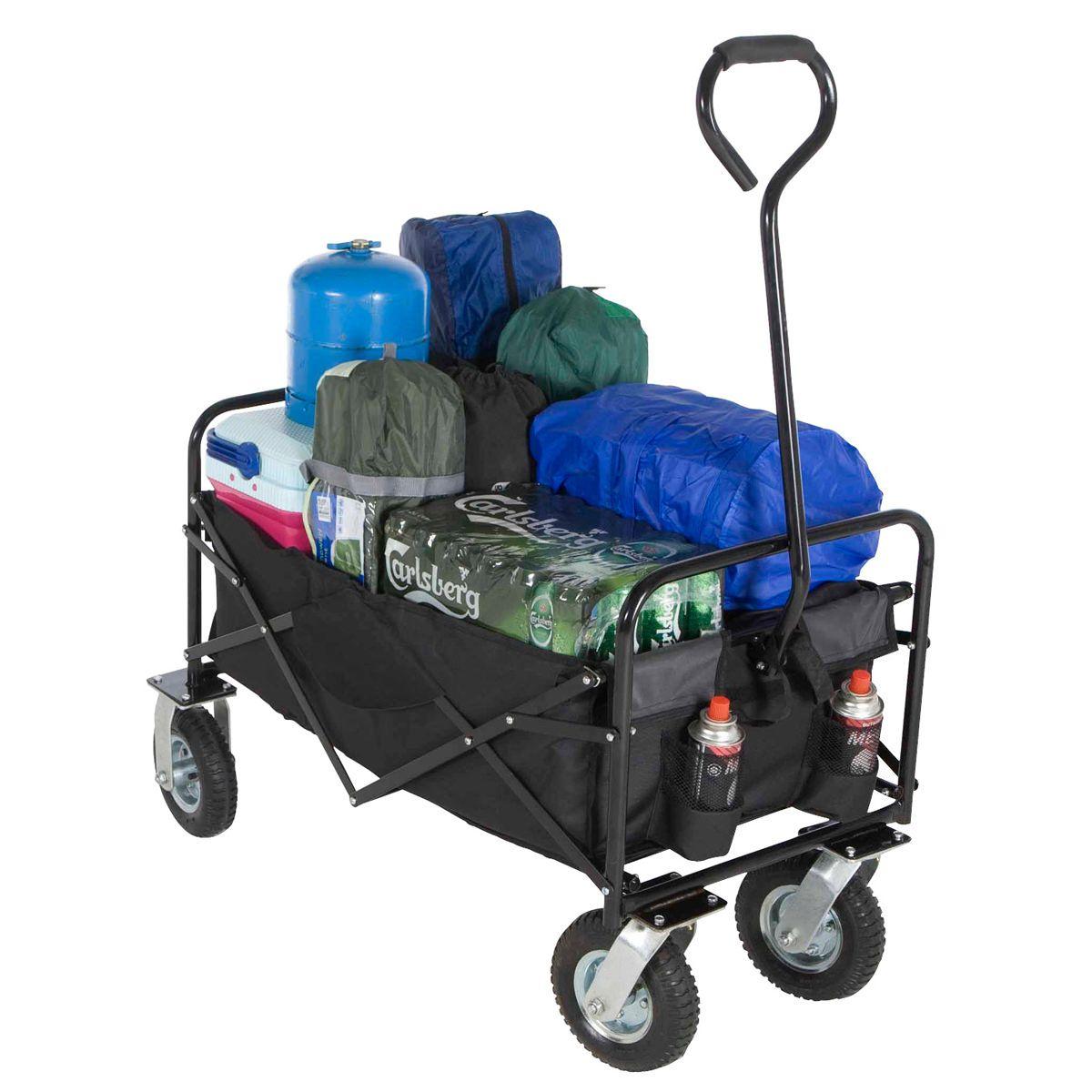 3b6419aa6d66 Folding Trolley Cart | Camping Carts | Camping cart, Camping ...