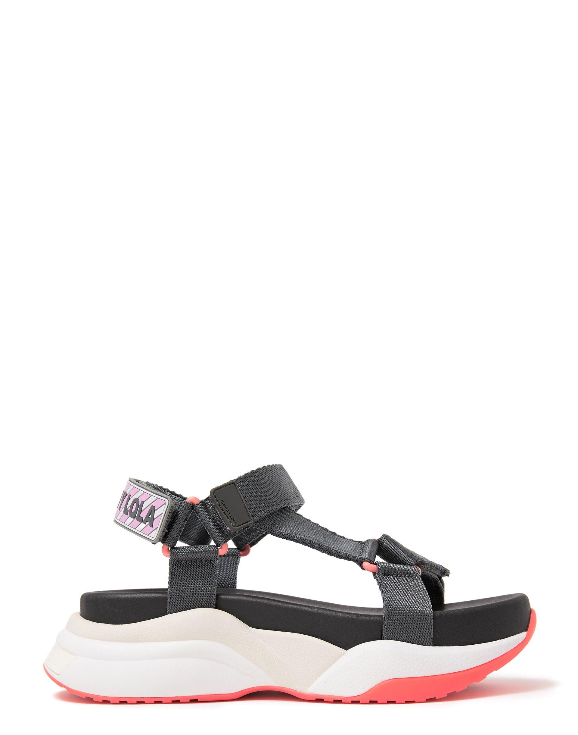 Grey chunky sandal