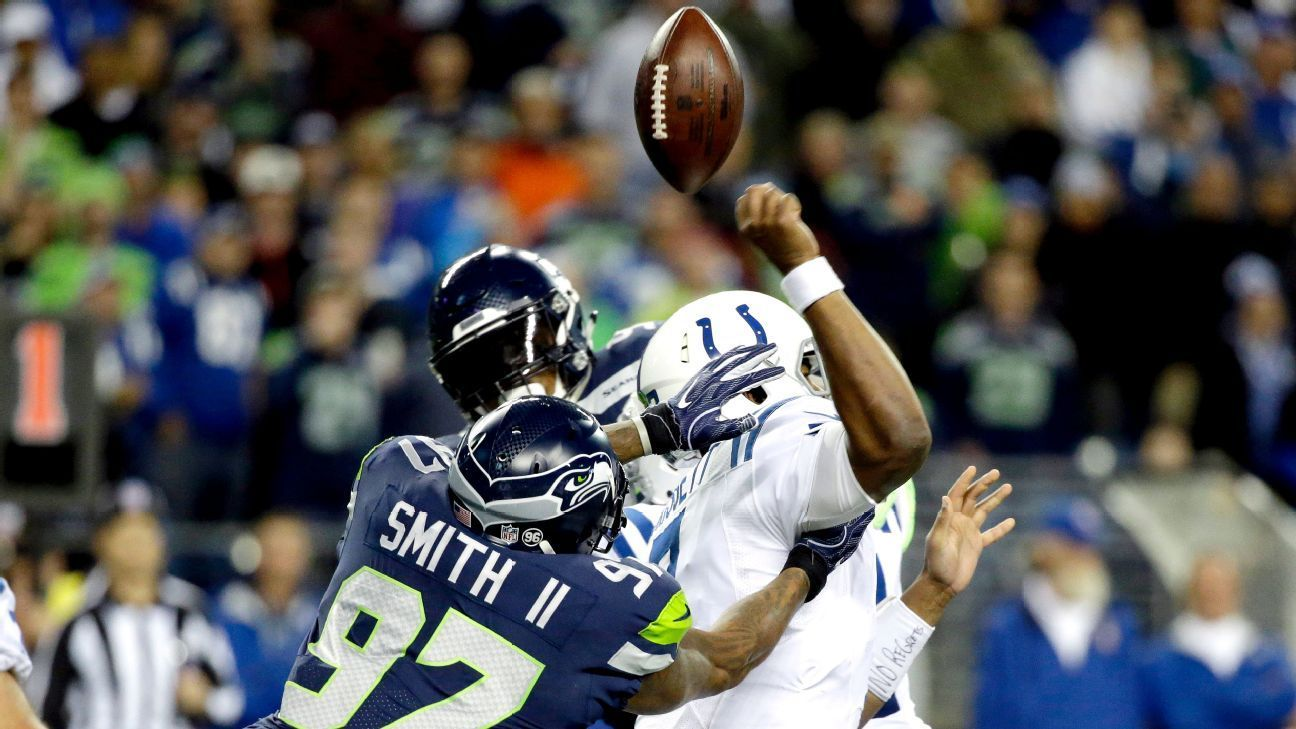 Cliff Avril likely out Seahawks will rely on Frank Clark Marcus