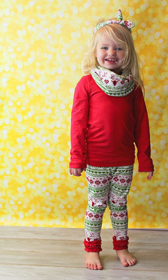 Baby Girl Christmas Outfit Girl Toddler by YourLittleLoves on Etsy - Baby Girl Christmas Outfit- Toddler Girl Christmas Outfit- Kids
