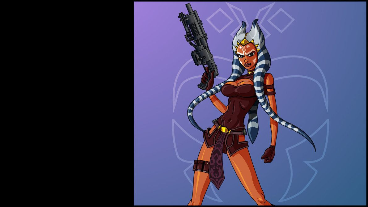 ahsoka wallpaper 2 by the-first-magelord on deviantart | star wars