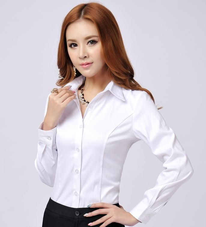 Image result for formal white shirt women | white shirt ...