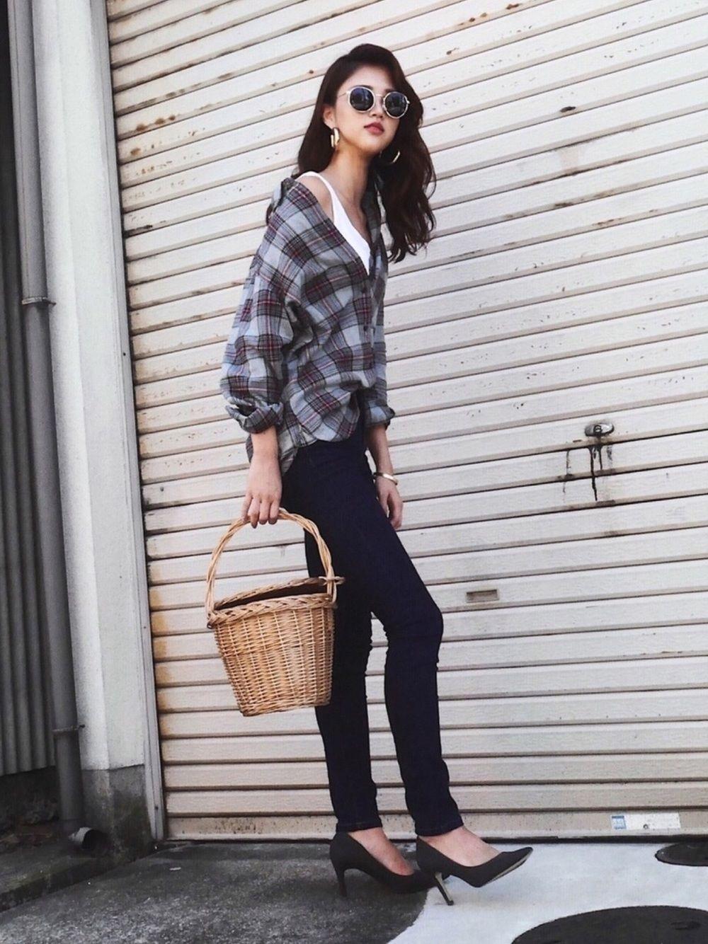 b0f60dc94fe Karen Kageyama |UNIQLOのシャツ・ブラウスを使ったコーディネート ...