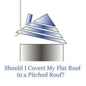 Valid Pros And Cons Of Converting Your Flat Roof To A Pitched Roof Aka Roof Conversion Flat Roof Roof Pitched Roof