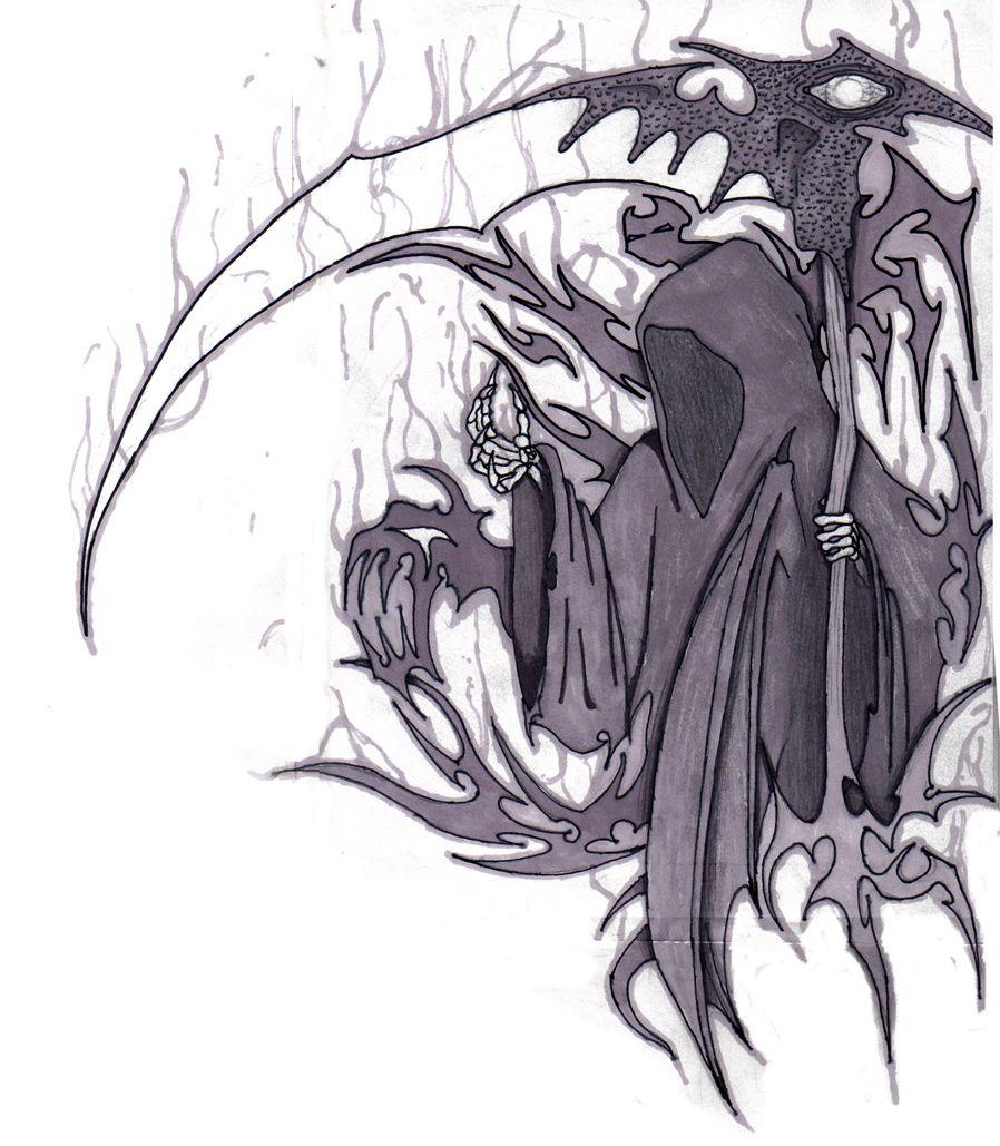 Grim Reaper By Anthony Mccracken Grim Reaper Art