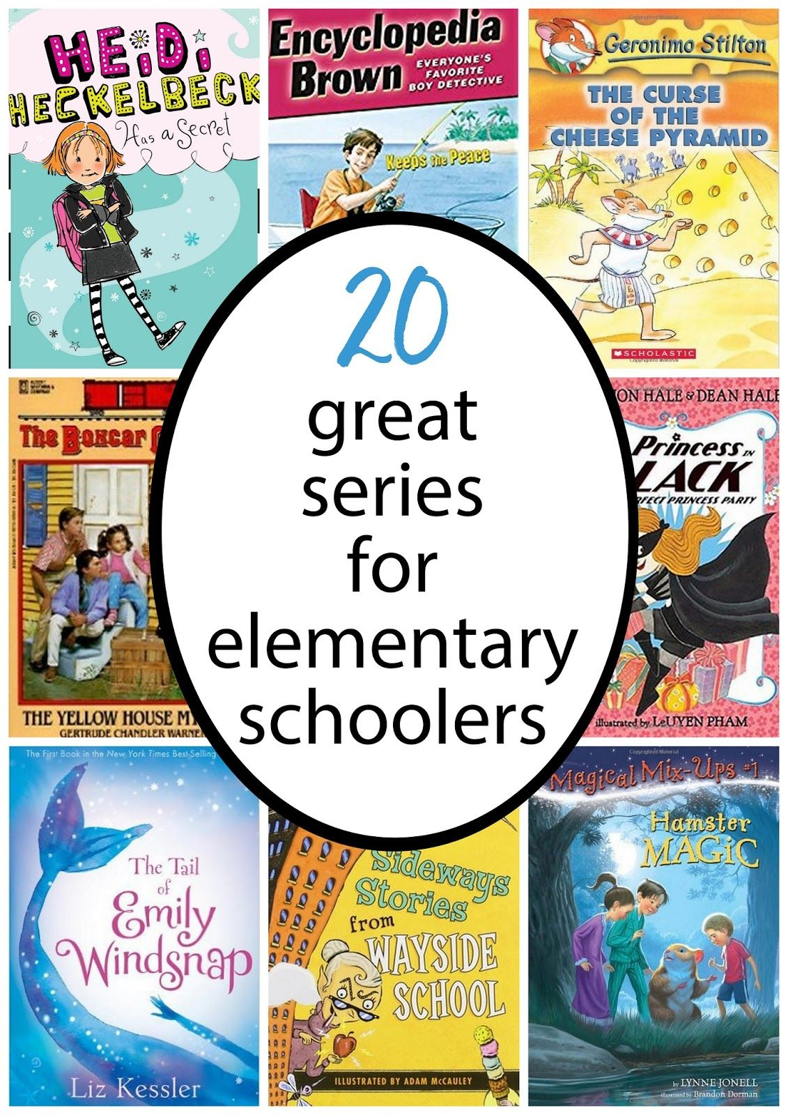 20 Favorite Chapter Book Series For Elementary Schoolers Mpmk