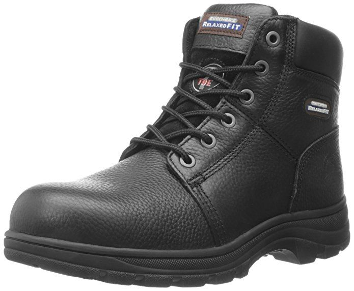 Skechers For Work Men S Workshire Relaxed Fit Work Steel Toe Boot