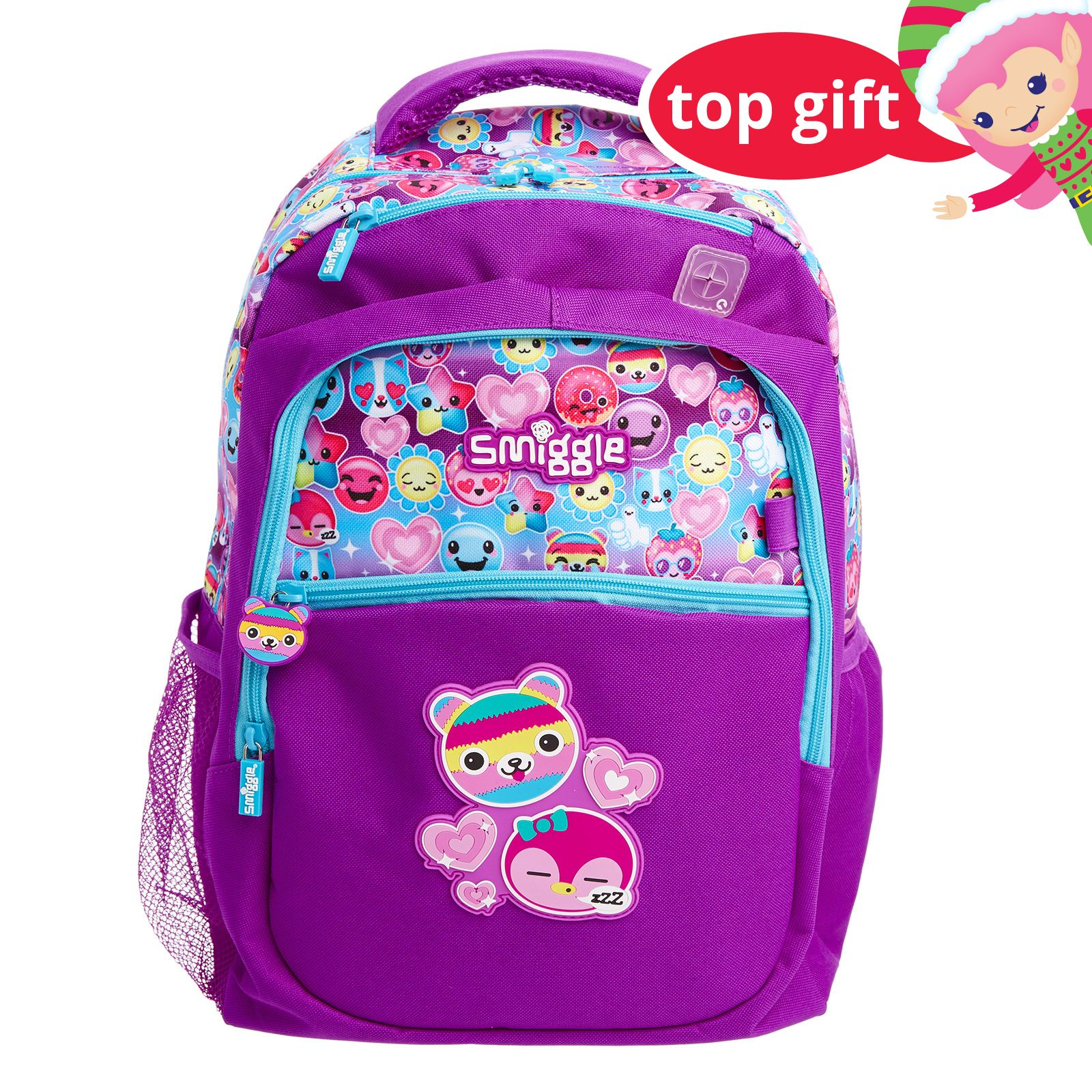 Smiggle Says double Glossy Trousse Violet