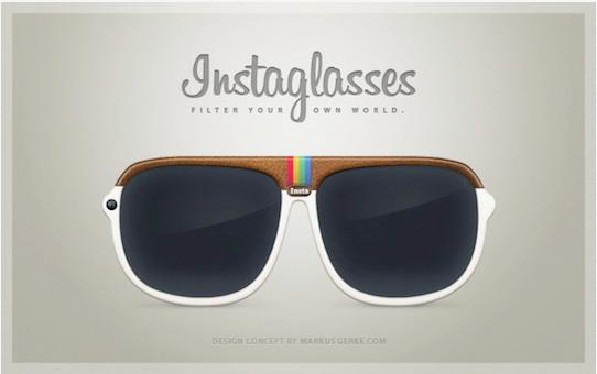 Instagram glasses = instaglasses...