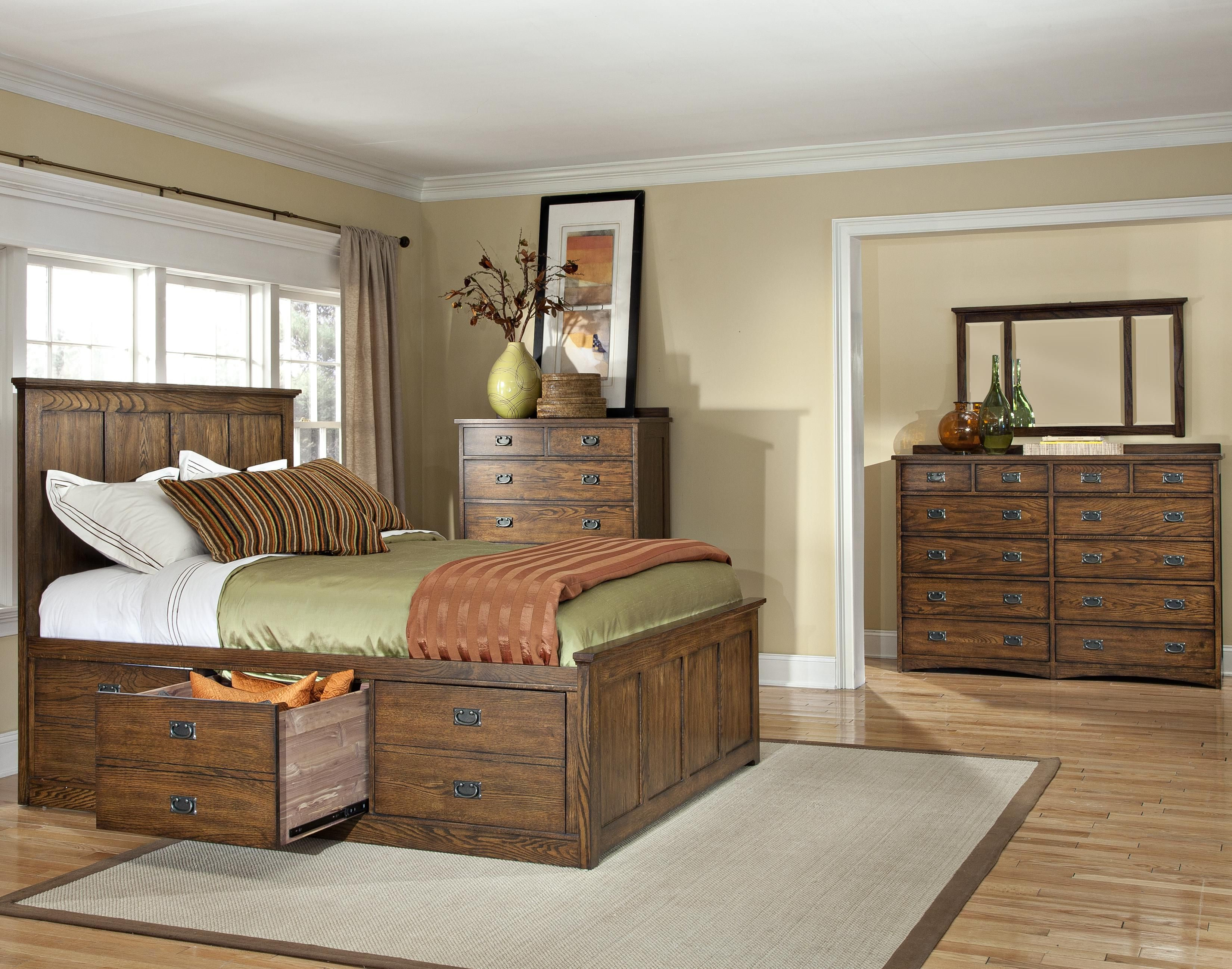 King Bed With Storage