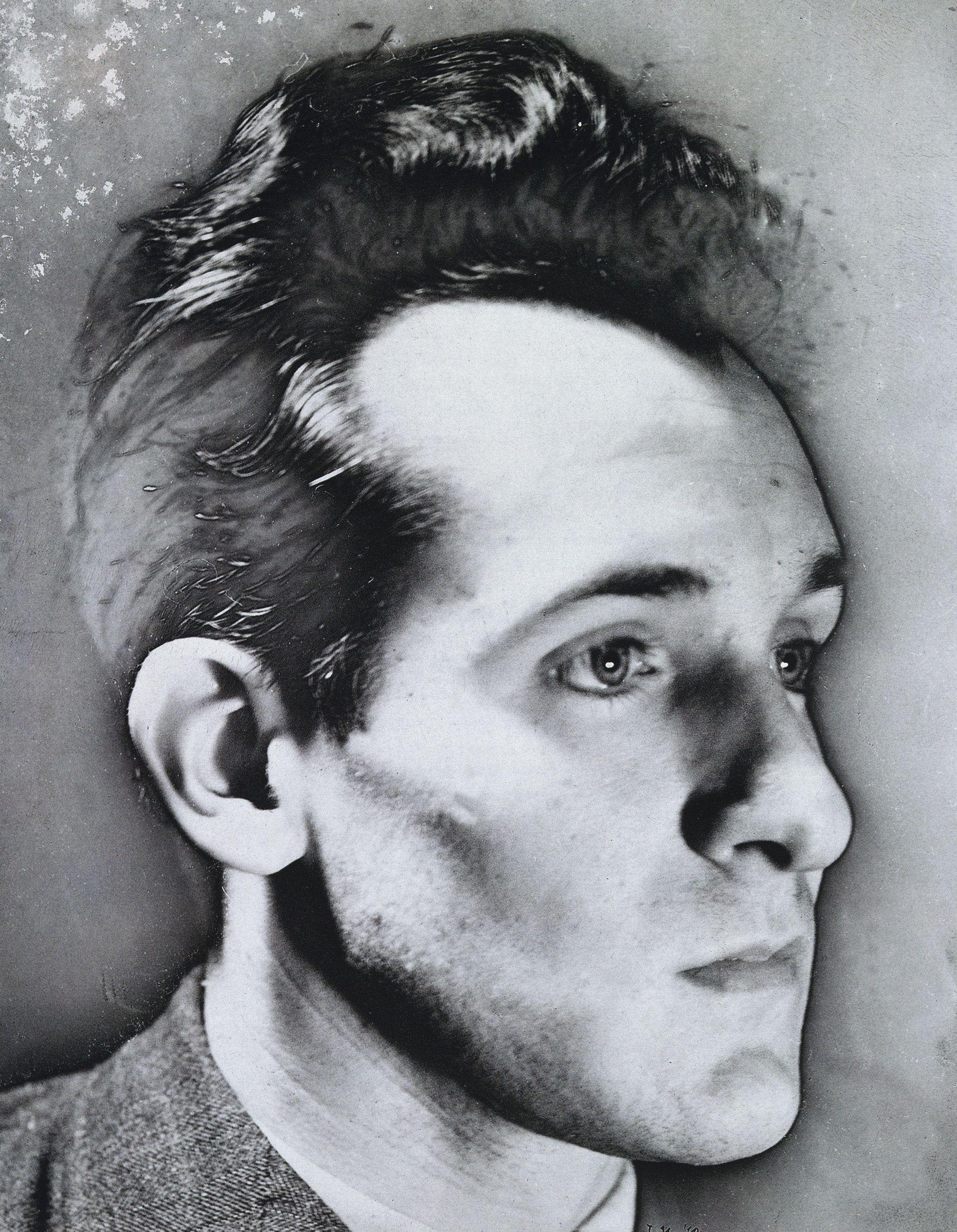 Raoul Ubac Autoportrait Solarise Solarized Self Portrait 1940