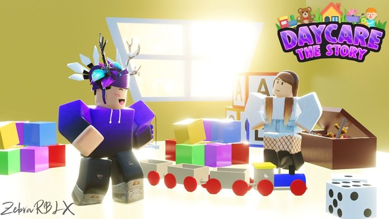 Youtube Jelly Plays Roblox Daycare Story Roblox Roblox Horror Game Free Toys