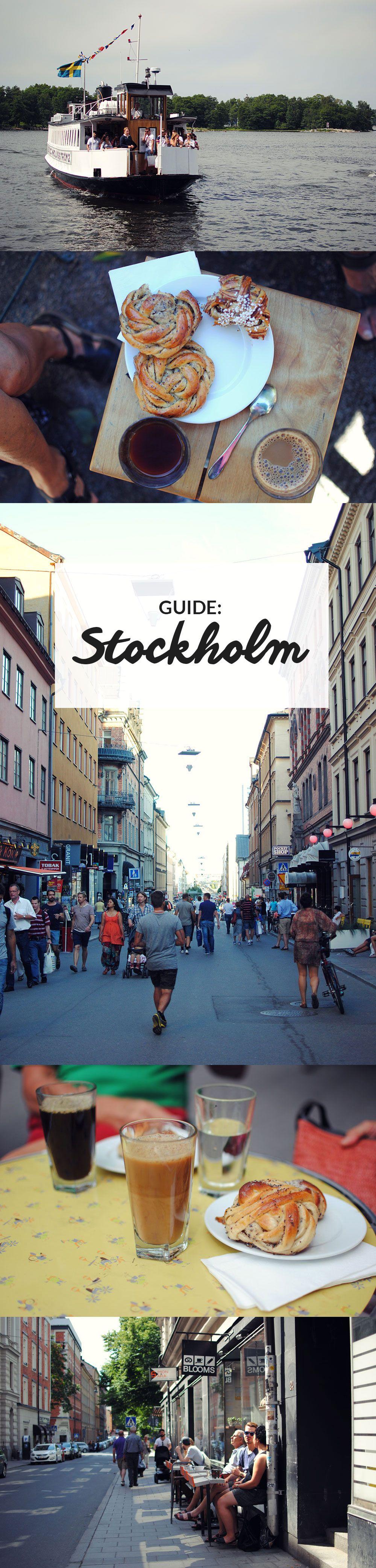 Guide til Stockholm   De bedste restauranter, caféer og oplevelser