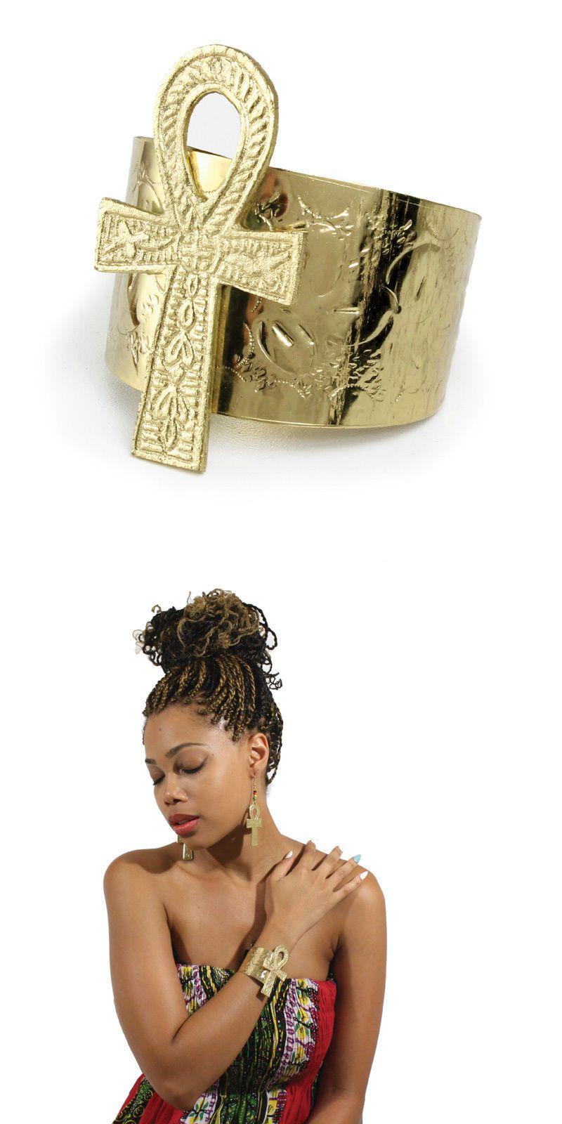 Jewelry ankh cuff ankh pendant anklets hand wrist bracelet cuff