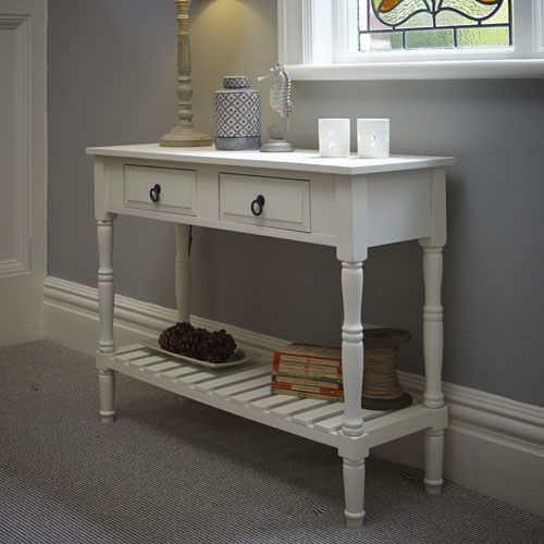 White Hallway Console Table classic+wooden+console+table | home improvement | pinterest