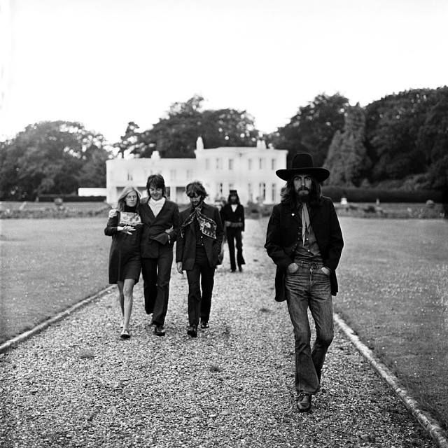 """Tittenhurst 1969. """"It was just a photo session. I wasn't there thinking 'OK this is the last photo session."""" - Ringo (from The Beatles Anthology) Photo  Apple Corps - http://ift.tt/1HQJd81"""