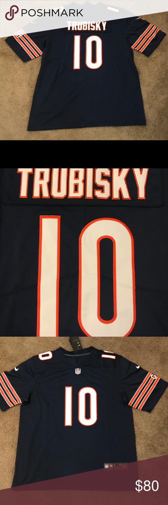 los angeles dfa7e 55b1a Mitch Trubisky Chicago Bears Jersey Men's XL Get your Mitch ...