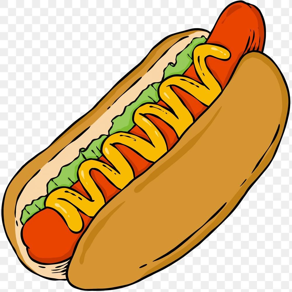 Yummy Hotdog Bun Sticker Png Free Image By Rawpixel Com Noon Hot Dogs Food Png American Hot Dogs