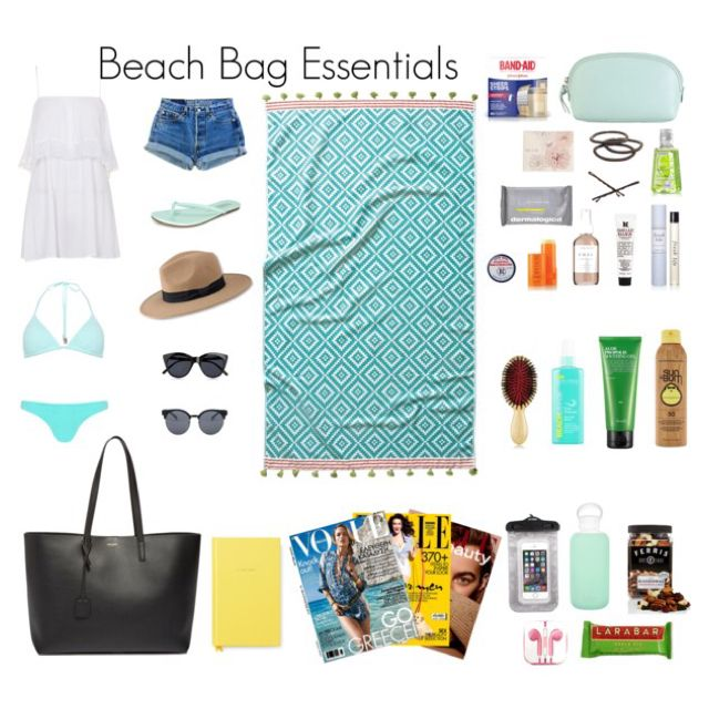20 Beach Bag Essentials: Beach Packing List | Beach packing lists ...