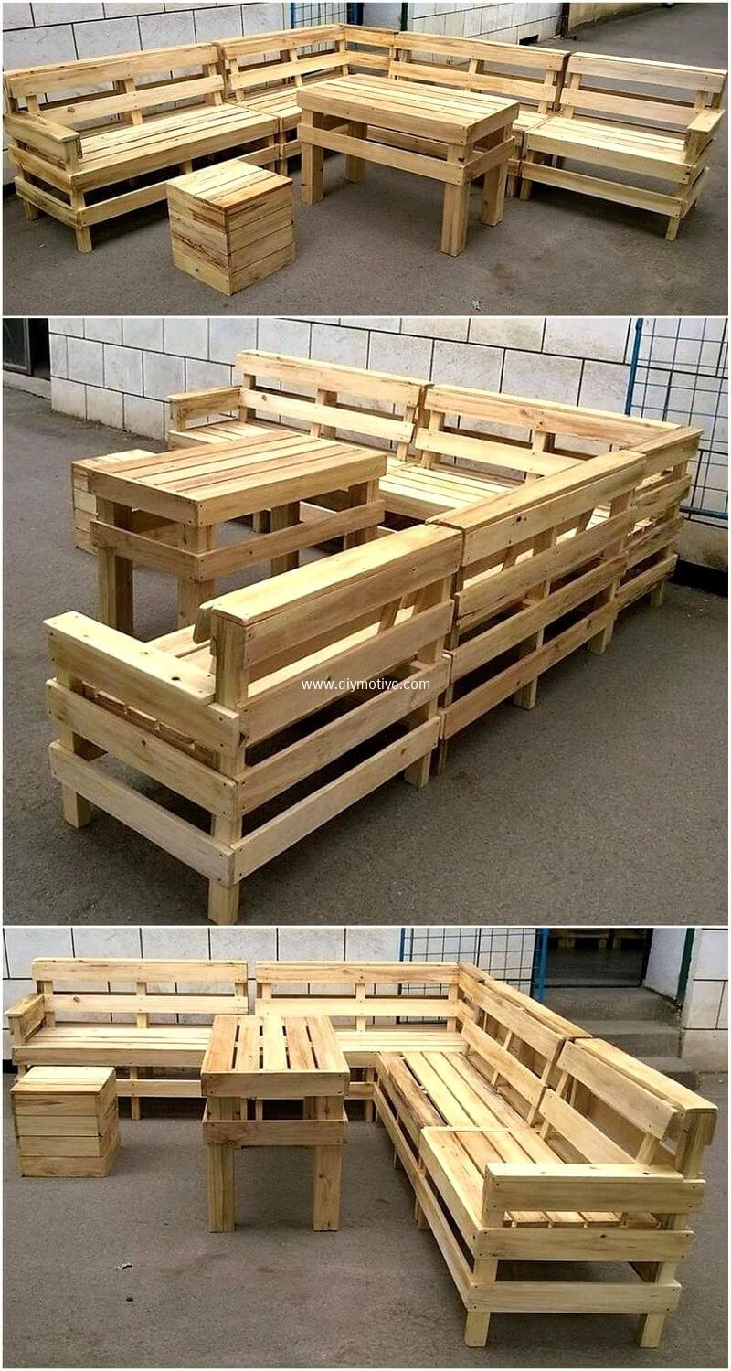 Cheap Achievements With Reclaimed Wooden Pallets Homemade