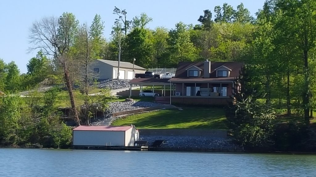 House photo taken from South Sauty Creek Waterfront