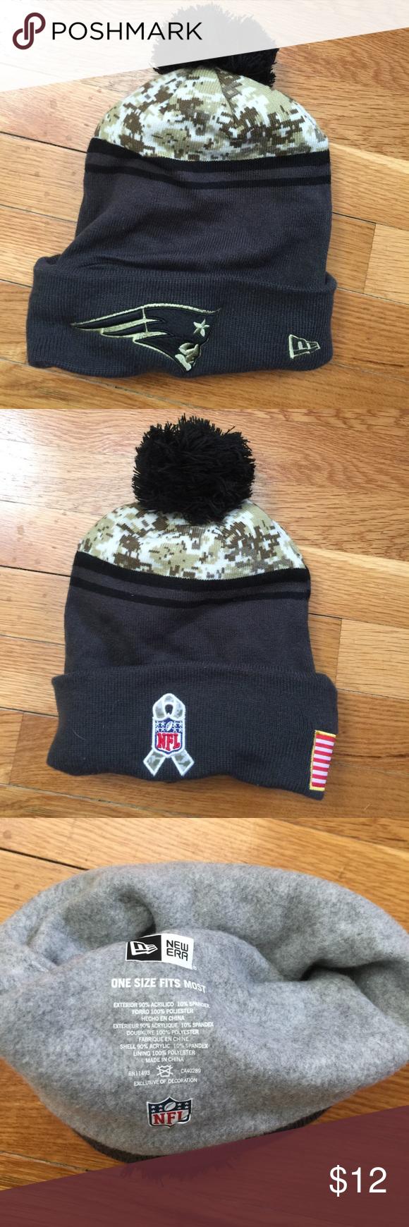 Salute to Service Patriots Hat Winter hat. Fleece lined. Never worn. NFL  Accessories Hats 8fbdd4b1b2a