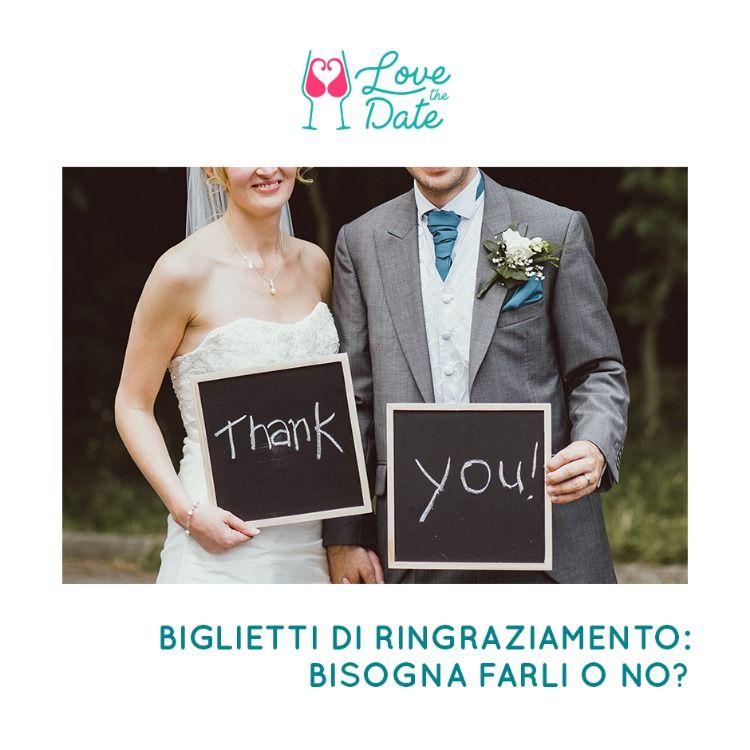 Segnaposto Matrimonio Galateo.Biglietti Di Ringraziamento Bisogna Farli O No Matrimonio