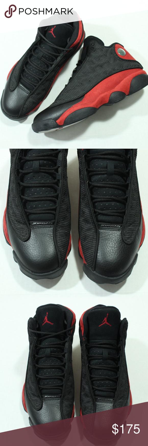 ca47d4d24e50 Nike Air Jordan 13 XIII Retro Bred Black True Red Nike Air Jordan 13 XIII  Retro
