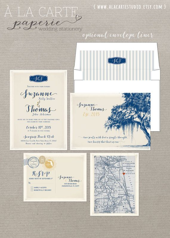 Vintage Florida Oak Tree With Spanish Moss By Alacartepaperie