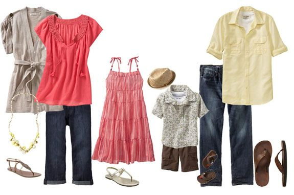 what to wear family