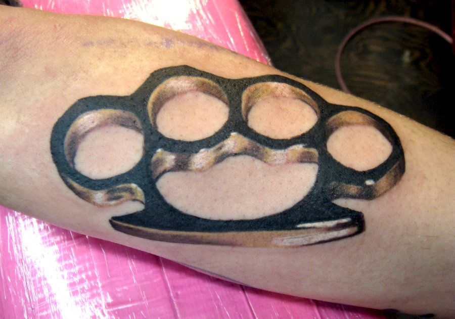 Tattoo Brass Knuckles by_Sexforcigaretts | My aspirations ...