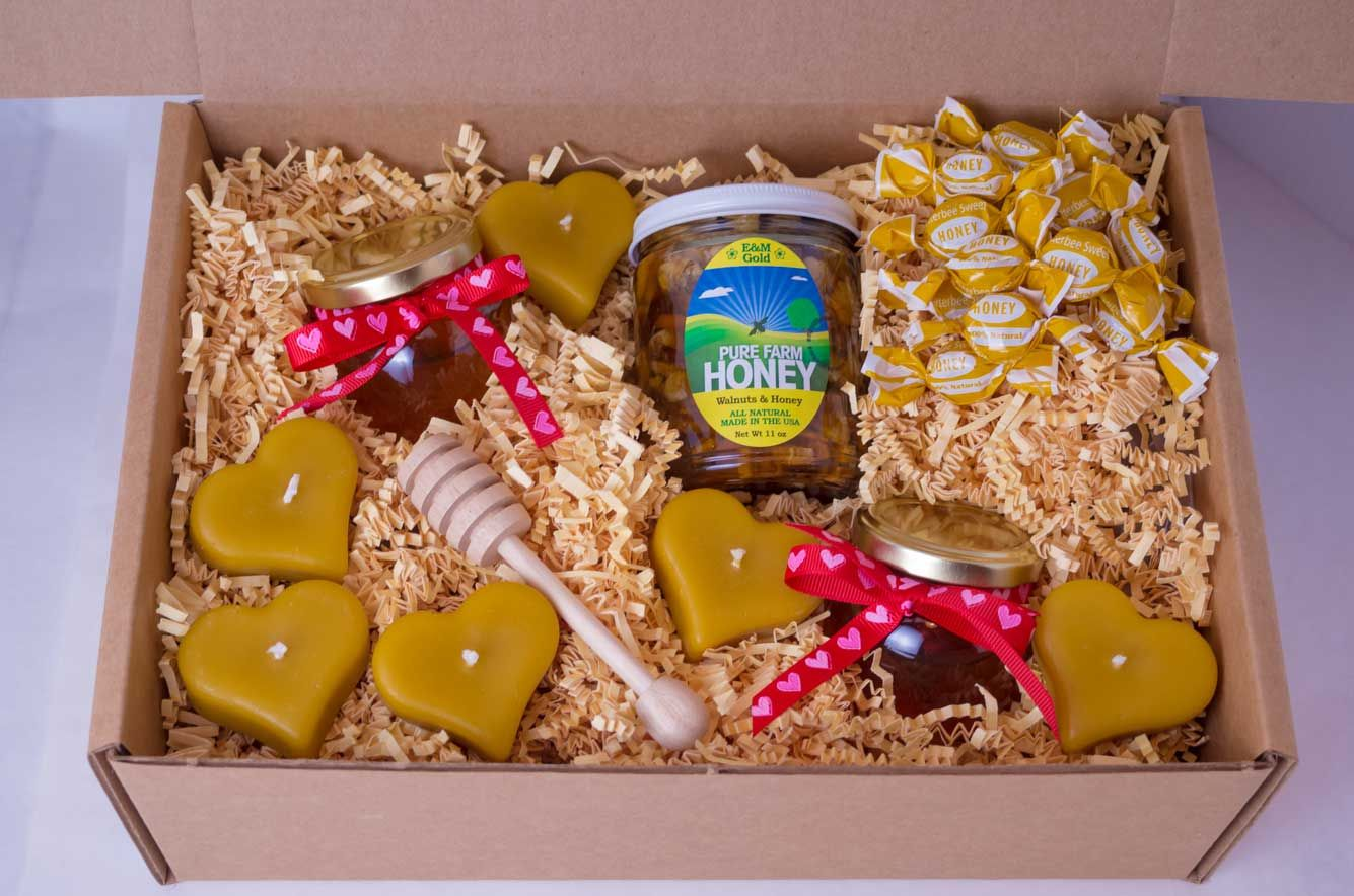 Raw honey lovers gift box corporate event and gift honey ideas