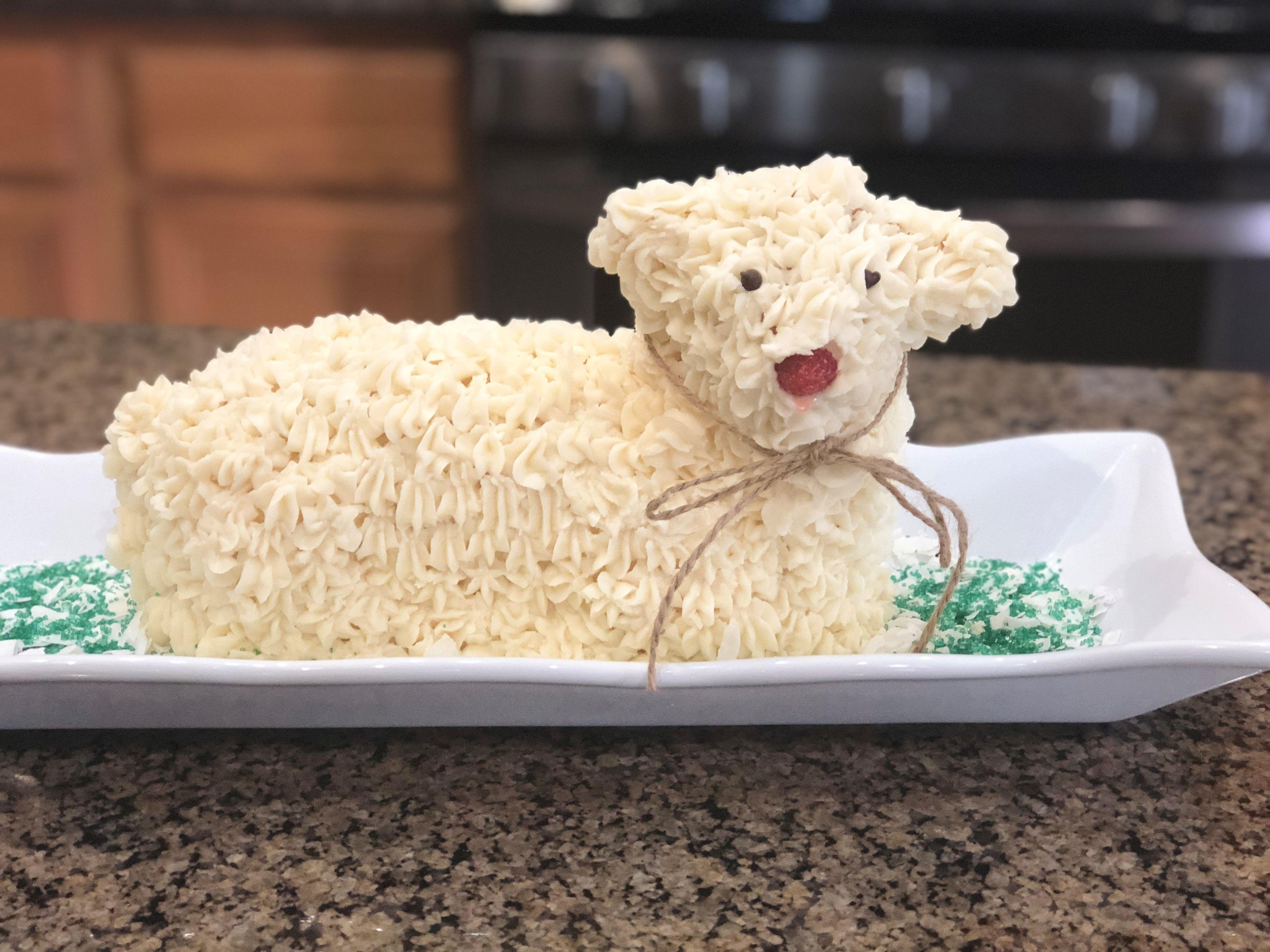 Easter lamb cake ii recipe in 2020 lamb cake easter
