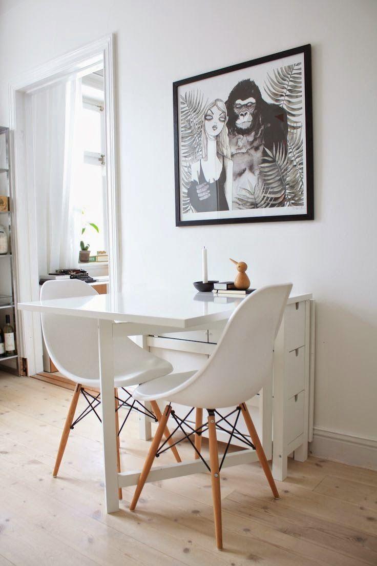 9 soluciones para ahorrar espacio en comedores pequeños que te ...